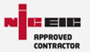 NIC Approved contractor logo